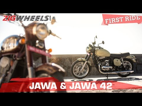 Jawa And Forty Two Review - Do They Live Up To The Hype? | Zigwheels.com