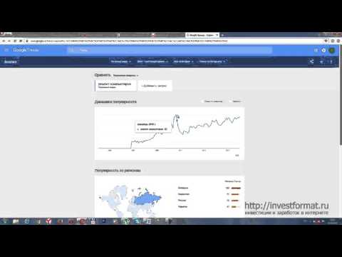 Сравнение google trends и yandex wordstat