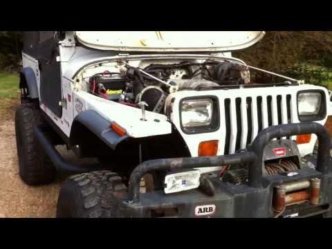 '92 Jeep YJ Rockcrawler w/ Ford 302 V8,C6, NP208