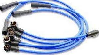 видео Высоковольтные провода зажигания: как проверить и распознать симптомы неисправности. Провода для свечей