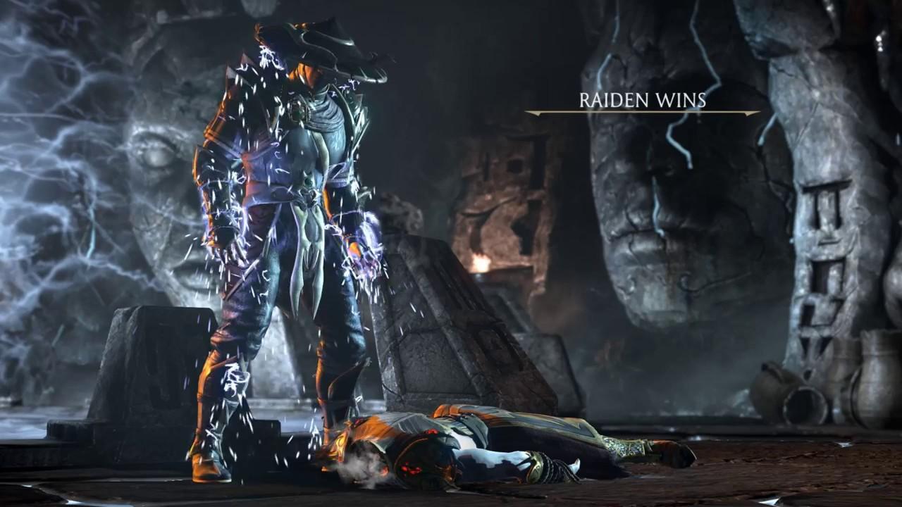 Mortal Kombat XL Raiden Fatality Live Wallpaper V1