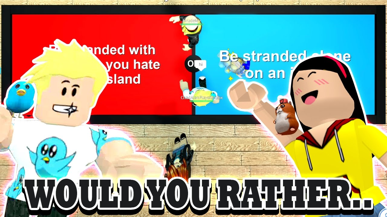 How Much Do We Know Roblox Would You Rather Dollastic Plays With Gamer Chad - https www youtube com roblox