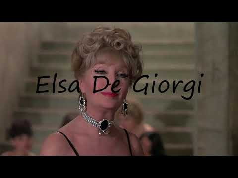 How to Pronounce Elsa De Giorgi?
