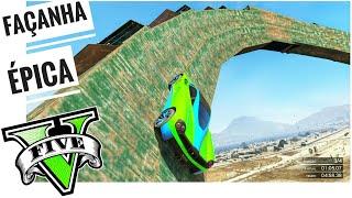 GTA 5 ONLINE XBOX 360 CORRIDA STUNT EPIC SIDE LOOP