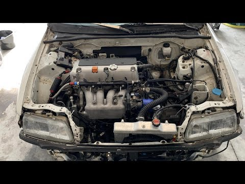 Diagnosing idle issue on a K20 crx and doing more pulls