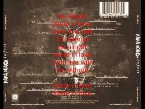 Papa Roach - Revenge with lyrics
