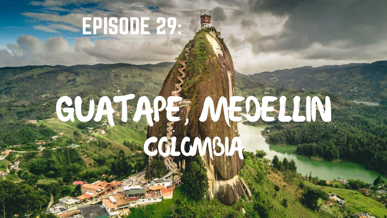 Guatape the rock of guatape, medellin, colombia - youtube
