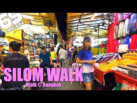 Silom Market / walk in Bangkok