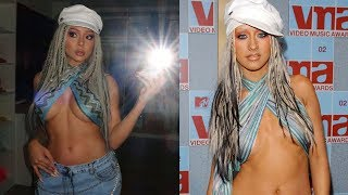 TRANSFORMED INTO XTINA FOR HALLOWEEN!!