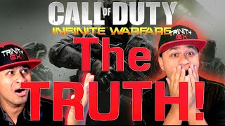 THE TRUTH BEHIND THE INFINITE WARFARE SECRET SURVEY! COD: IW SURVEY w/ TRINITY GX (Infinite Warfare)