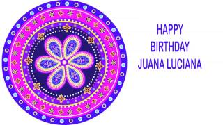 Juana Luciana   Indian Designs - Happy Birthday