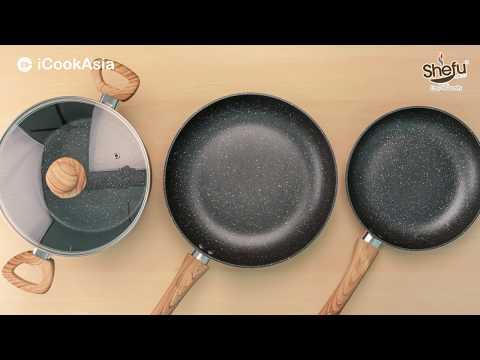 UNBOXING: Marble Stone Range Set | Set Periuk Marble Stone | iCookAsia Shop