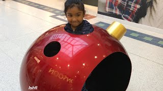 Ishfi Daily Vlog12 a Visit to Various shop decorated for Christmas