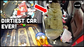 Deep Cleaning The Most INSANELY Dirty Car!   Unreal Car Detailing Transformation   MAD Detailing