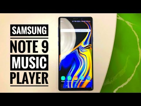 Samsung Galaxy Note 9 Music Player | Best Music Player App For Samsung Mobile 2018.