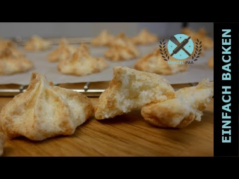 Leckere Kokos Makronen Rezept Glutenfrei Youtube