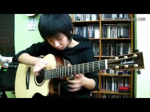Big Bang) 하루하루(Haru Haru)   Sungha Jung Acoustic Tabs Guitar Pro 6