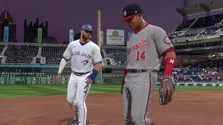 The Pittsburgh Blue Jays?  Toronto Blue Jays vs Washington Nationals at PNC Park (MLB The Show 20)