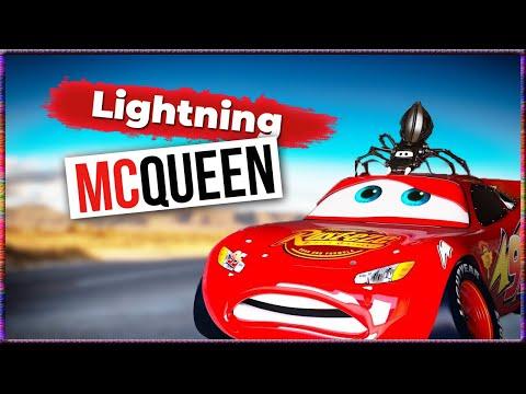 CARS DEUTSCH - Disney Kinderfilm - Cars Toons Toon - Lightning McQueen & Hook & Frank & Trecker - 4K