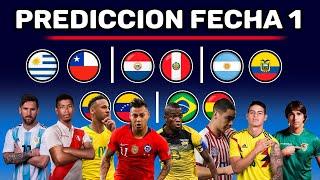 ELIMINATORIAS FECHA #1 - PREDICCIÓN TOTAL - Sudamerica Rumbo a Qatar 2022