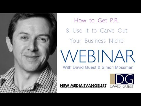 How to Get P.R. and use it Carve Out Your Businesses Niche