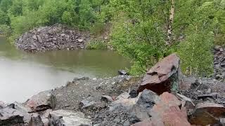 Каменный верблюд  Видео 3  Горное озеро