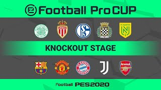 eFootball Pro Cup Knockout Stage 03/08/2020