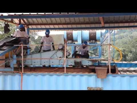 Gold & Diamond Mine of C&K Mining 2013 in Cameroon
