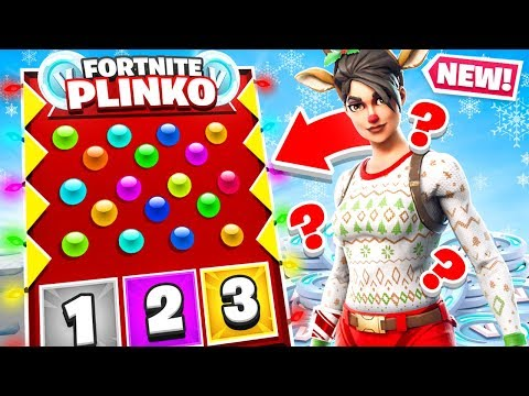 PLINKO *NEW* Creative Game Mode in Fortnite Battle Royale
