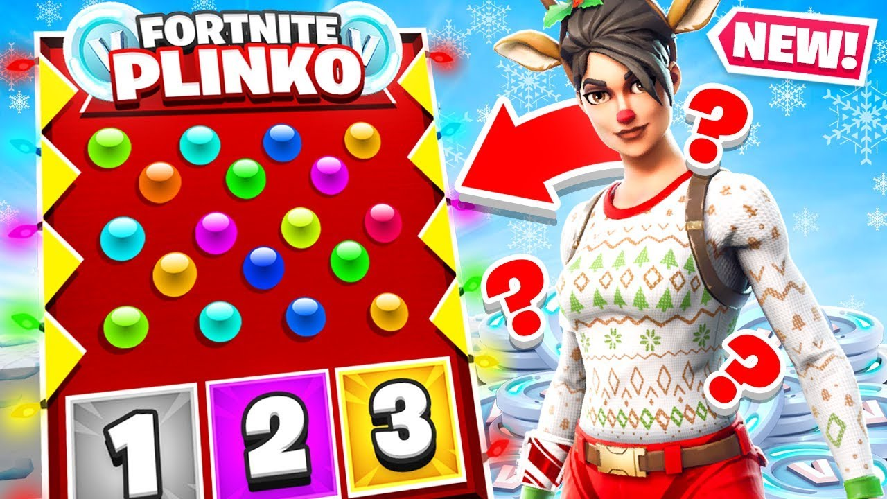 PLINKO Gun Game *NEW* Creative Game Mode in Fortnite Battle Royale