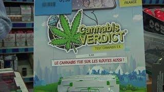 Des tests de dépistage du cannabis en vente libre - 08/012