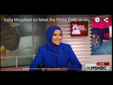 Dalia Mogahed on Meet the Press Daily on impact of Paris Attacks on Muslim Americans