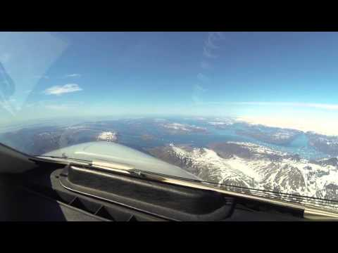 North Atlantic Ferry Flight- Leg 4 Narsarsuaq to Goose Bay