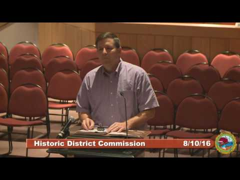 Historic District Commission 8.10.16