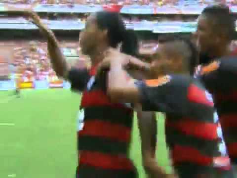 Flamengo Campeao Carioca 2011-Bonde do Mengao sem freio -Ronaldinho gaucho