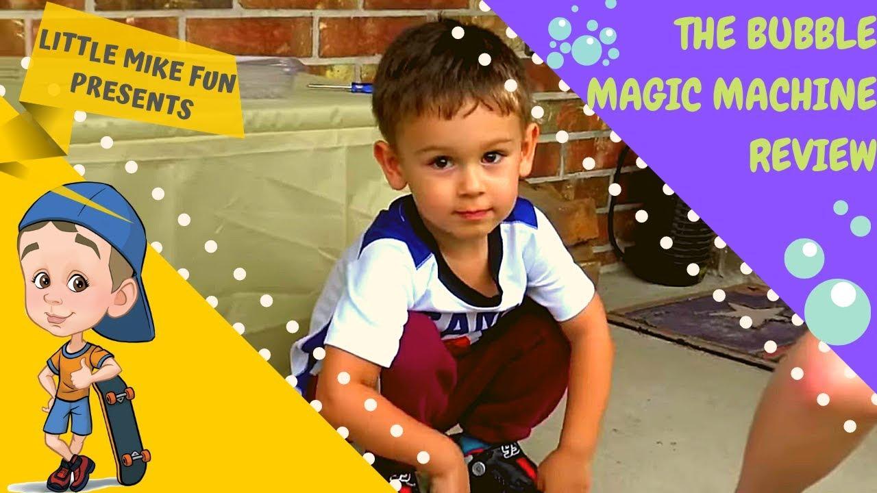The Magic Bubble Machine Review 2018 Blitz Bubble Blowout Review