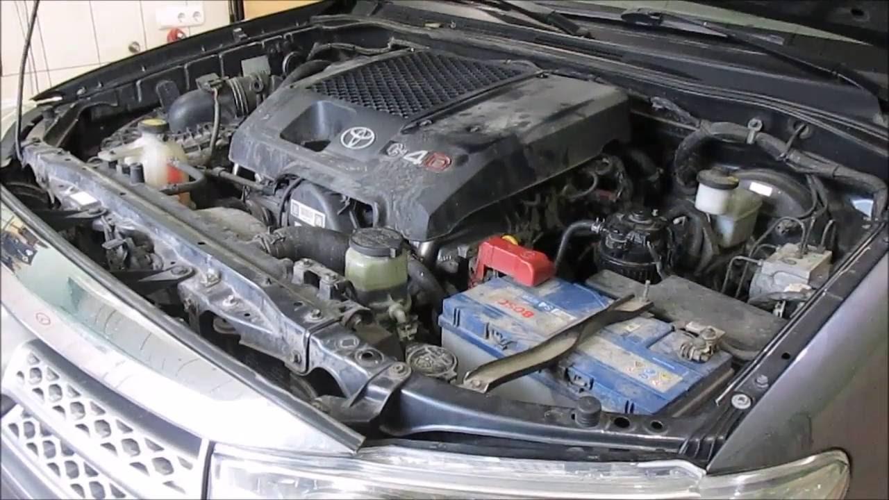 Toyota Fortuner 3.0D, 2007 - Не стабильные показания ДТОЖ