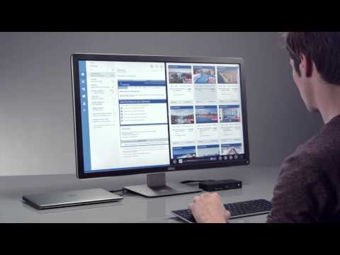 Dell shows the latest DisplayLink enabled docking station (D3100)