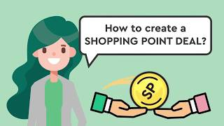 How to use Cashback World UTERM to create Shopping Point Deals