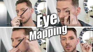 advanced eyeshadow tutorial   the eyeshadow mapping technique
