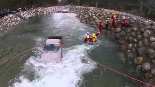 2014 #techrescueacademy Rescue From Vehicles In Water course