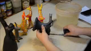 Мастер- класс по лепке филимоновской игрушки.