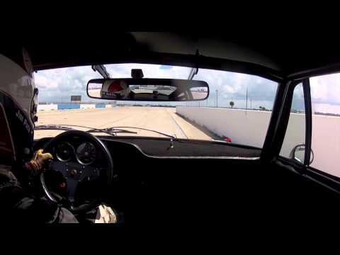 Sebring Raceway tutorial onboard Jim Pace Porsche 911 RSR 3.0L