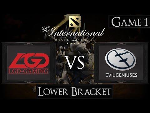 Dota 2 The International 2015 LGD vs EG