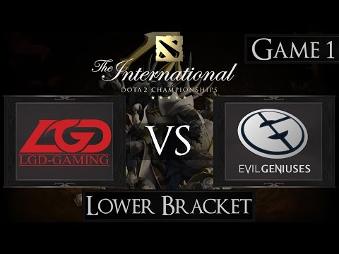 LGD vs EG - The international 2015 - LB Final - G1