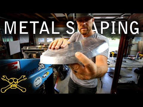 How To Make Curved Flanges On Sheet Metal Panels | Tipping Die