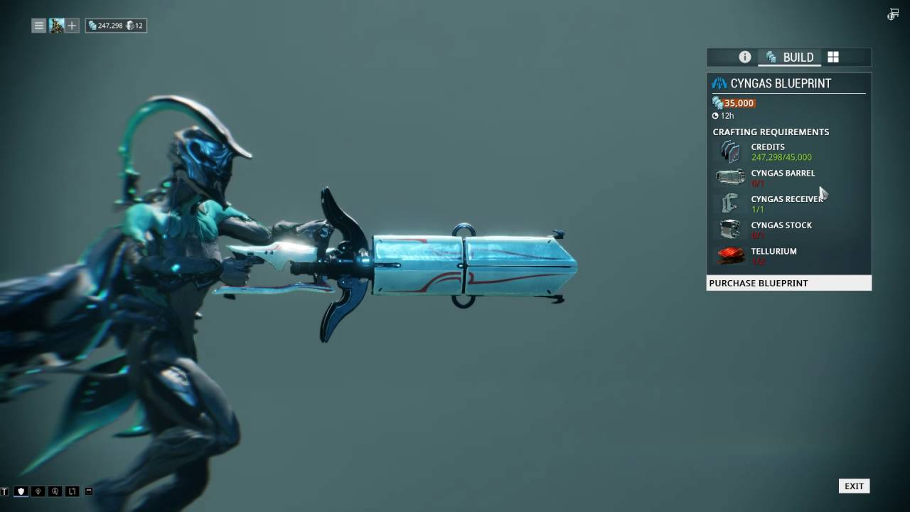 Warframe How To Get The Archwing Weapon Cyngas In U19 Youtube Well in this video i'll show you guys how to farm tellurium and what is the best place to get. warframe how to get the archwing weapon cyngas in u19