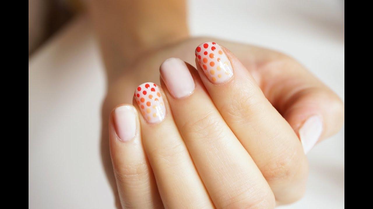 Manicure Kropki