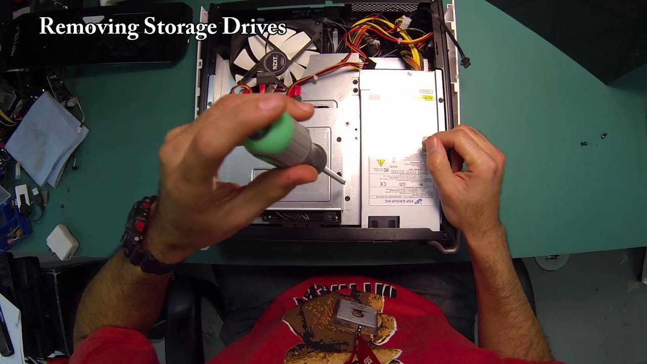 Revolt Disassembly Youtube Removing The Desktop Pc Power Supply Ibuypower Gaming Pcs