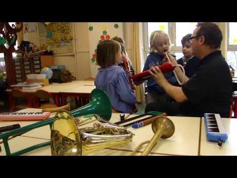 Cours d'éveil musical école Gerson LeToutPetitConservatoire
